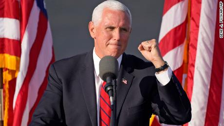 Pence's office says he did not attend swearing-in due to CDC guidelines 1