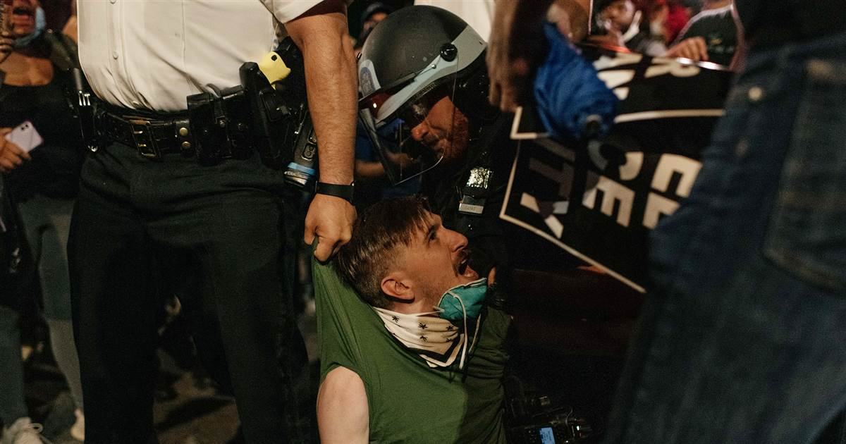 NYPD sued over 'brutal response' to George Floyd protesters 1
