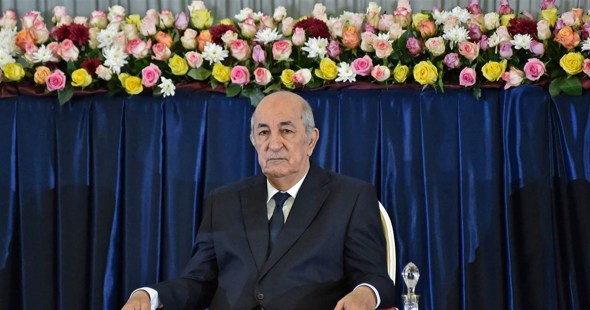 Algeria's president hospitalized, office says 1