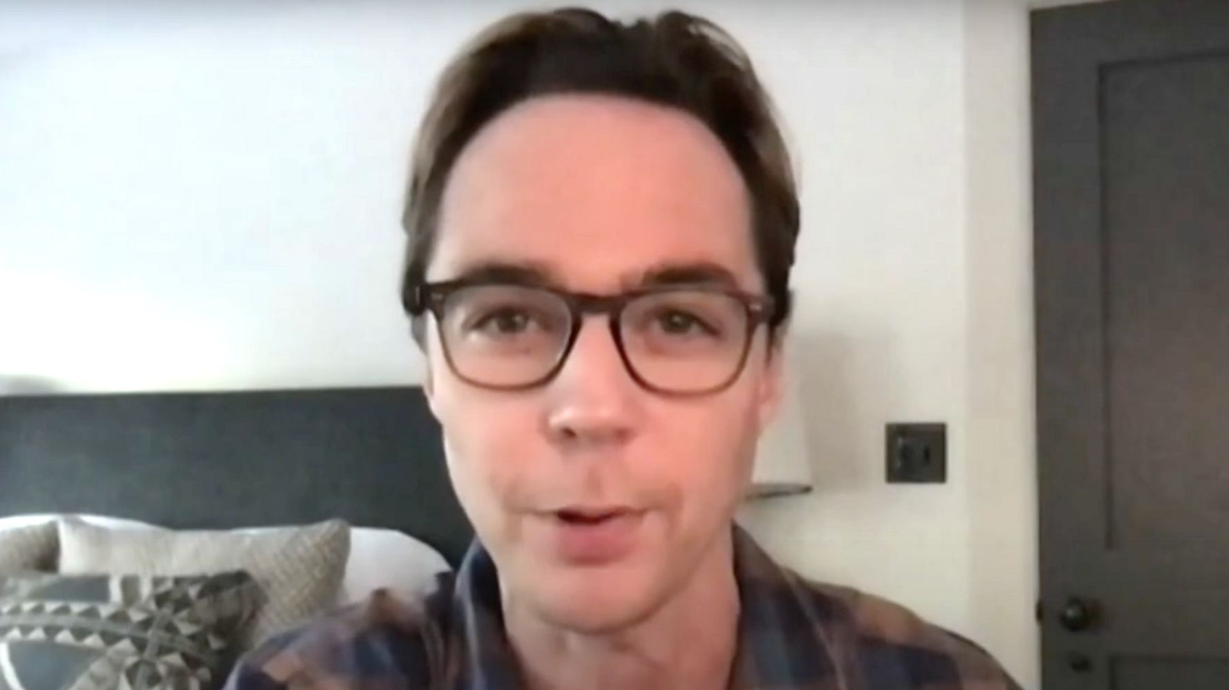 Jim Parsons Kept Cleanshaven During COVID-19 Fight For 'Morbid' Reason 1