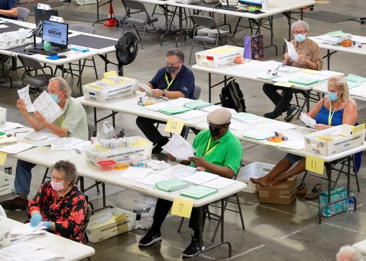 Early Data Shows Mail-In Ballots Are Moving Quickly Through Post Office 1