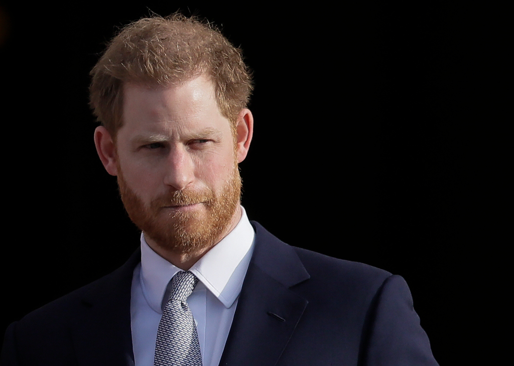 Prince Harry spotted wearing chic mask by Oakland designer 1