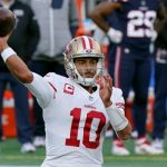 What the 49ers' Shanahan, Garoppolo are saying after dominant win over the Patriots 17