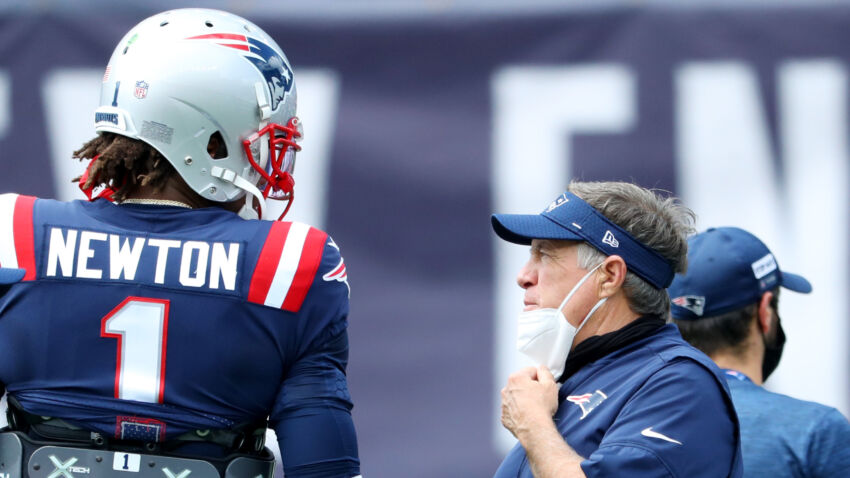 Bill Belichick explained why he's sticking with Cam Newton as Patriots starting quarterback 1