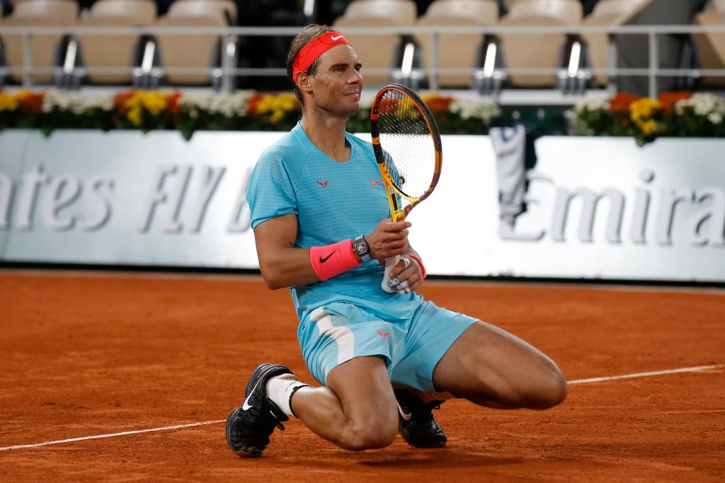 Perfect in Paris, Rafael Nadal overwhelms Novak Djokovic at French Open to tie Roger Federer 1