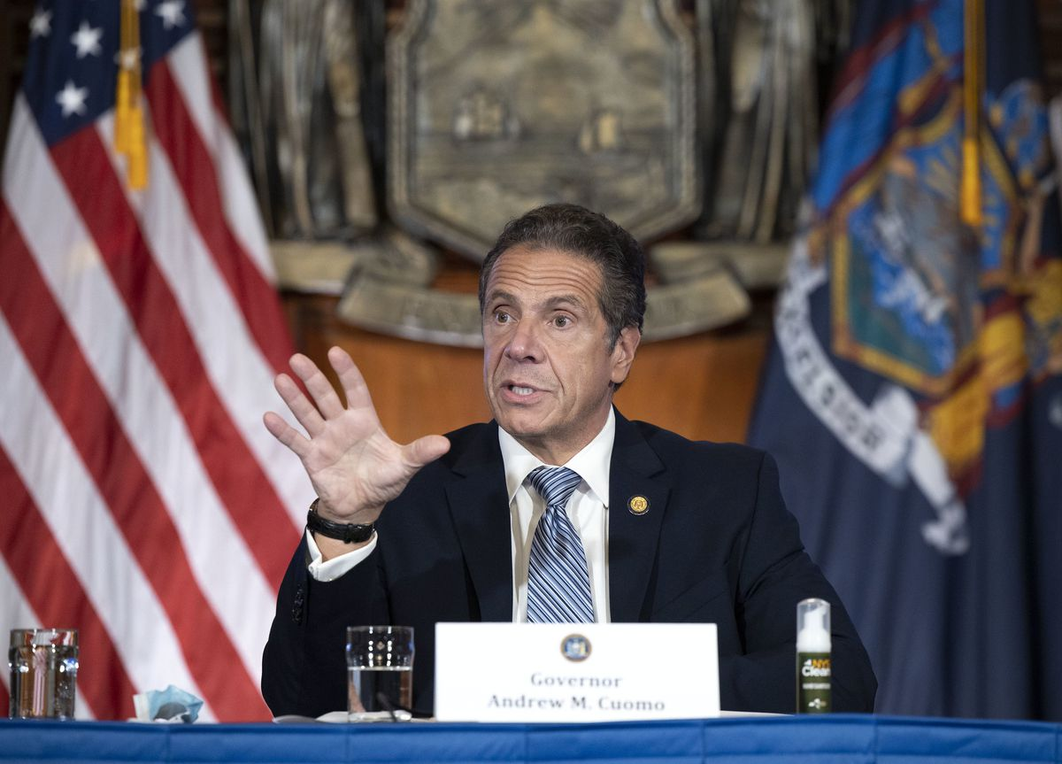 'Wear a mask, that's the law': Cuomo demands coronavirus enforcement as unrest grows in Brooklyn 1