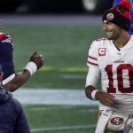 Jimmy Garoppolo shines in return as 49ers crush Patriots 10