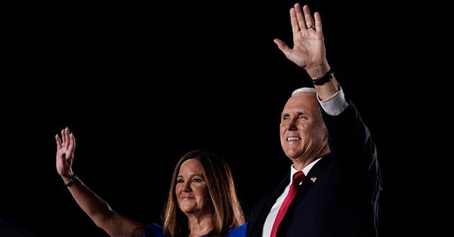Karen Pence's Office Defends Her Joining Debate Stage Without a Mask 1