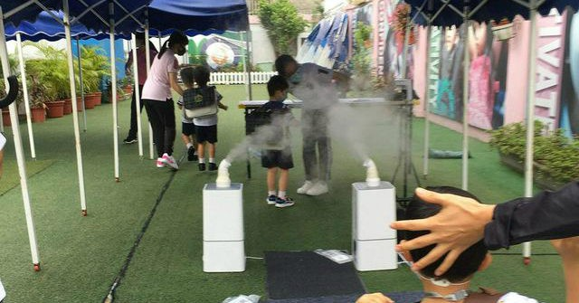 Hong Kong Kindergarten Sprays Children with Vinegar to Block Coronavirus Spread 1