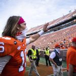 Clemson QB Trevor Lawrence tests positive for COVID-19 1
