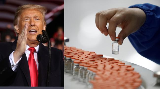 Trump Says He Won't Force Americans To Take COVID-19 Vaccine 1