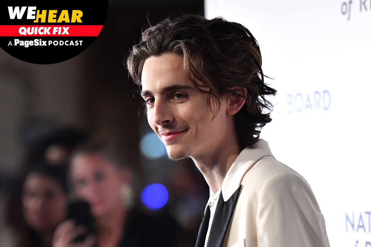 Timothée Chalamet's Dylan biopic isn't happening, plus Chris Cuomo goes mask-less and Ally Brooke is still a virgin 1
