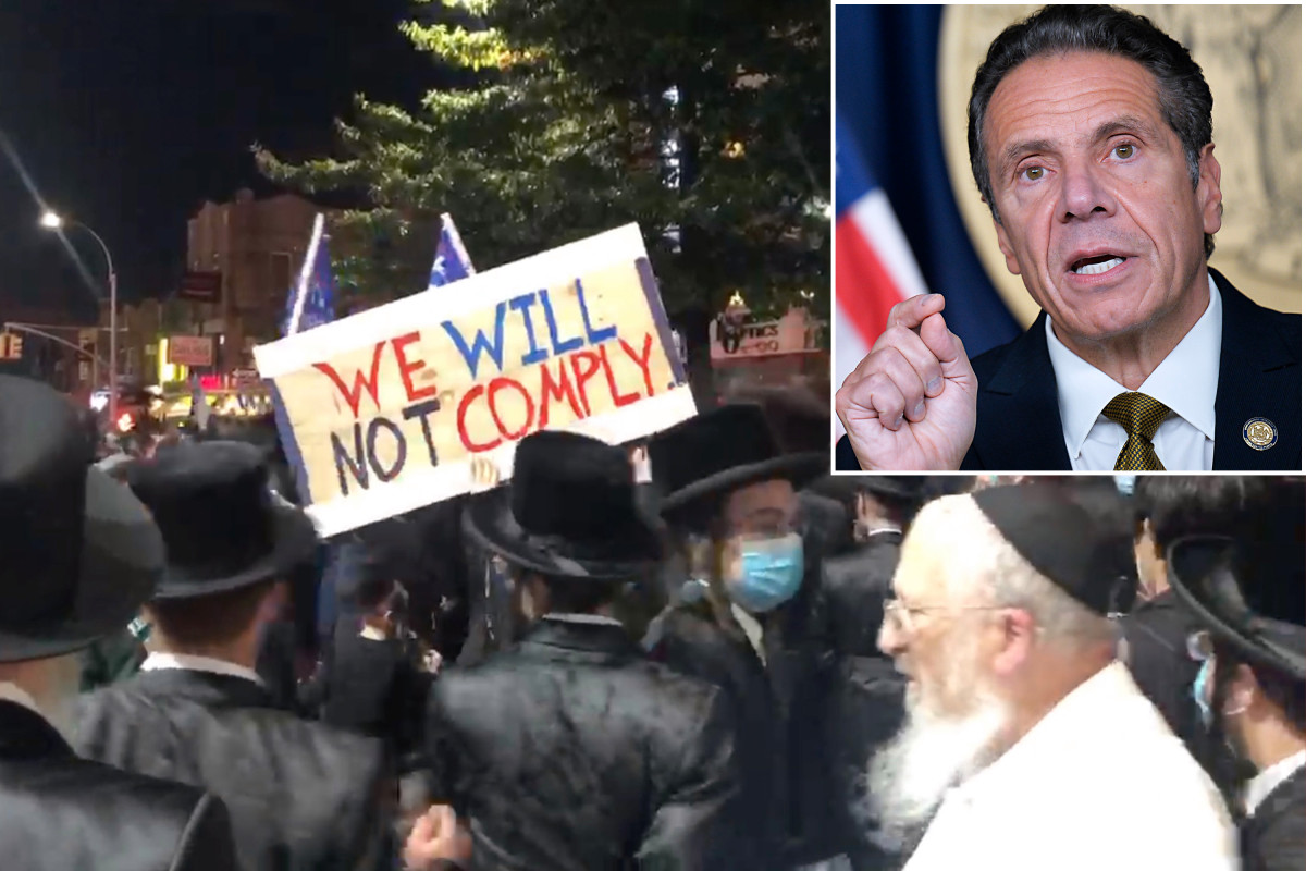 Jewish group sues Gov. Cuomo over new COVID-19 restrictions 1