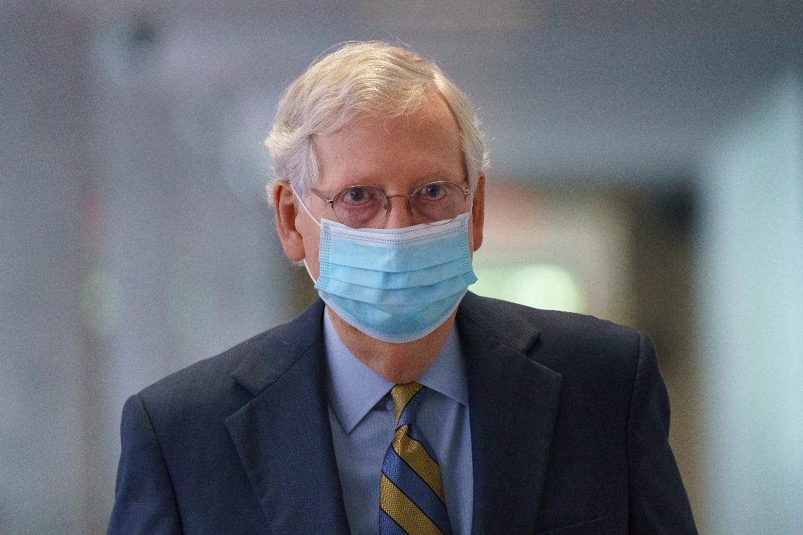 McConnell avoids visiting White House over its handling of coronavirus 1