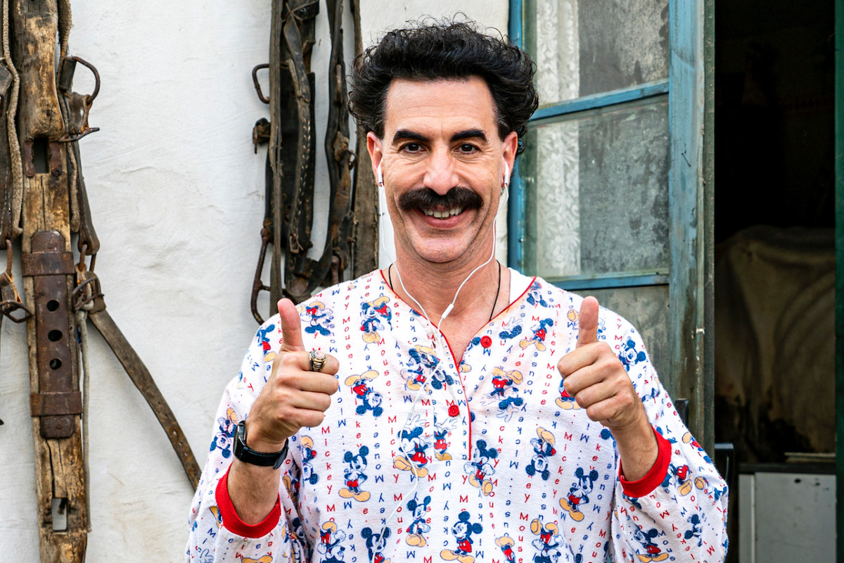 'Borat 2' Enjoys Very Nice Opening Weekend with Estimated 1.6 Million Household Viewers 1