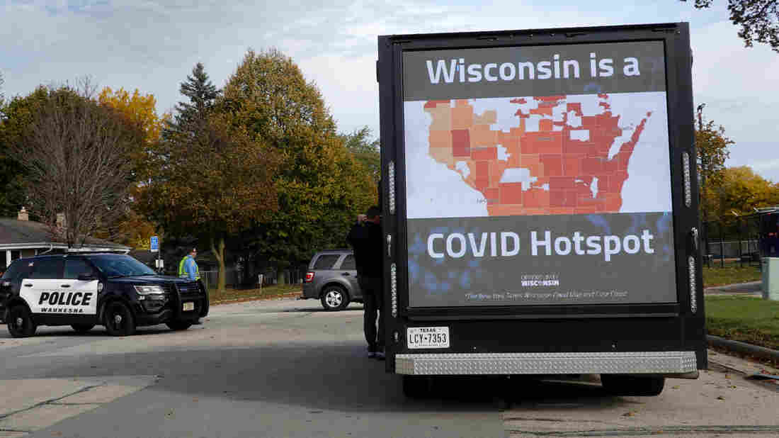 As COVID-19 Cases Surge In Wisconsin, Health Workers Brace For More 1