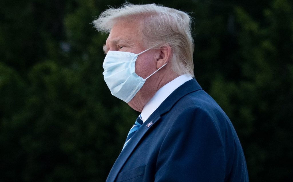 Donald Trump appears to blame Gold Star families for coronavirus infection 1