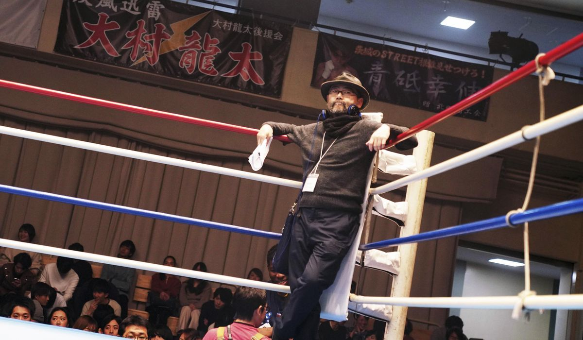 Tokyo festival opens with grueling boxing 'Underdog' film 1