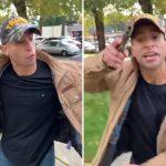 Man Pulls Gun on Anti-Trump Protesters at Washington Rally 9