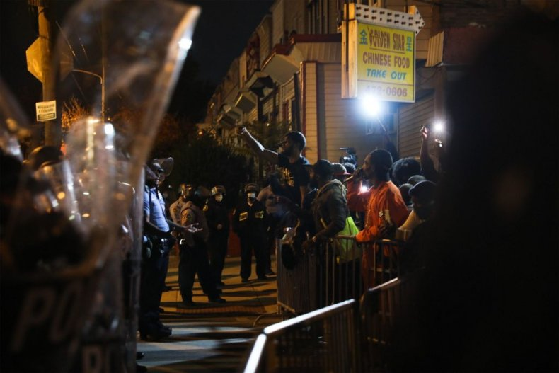 Philadelphia Police Fight Protesters As City Riots Over Walter Wallace Shooting 1