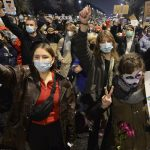 Polish women protest new abortion restriction in churches 10