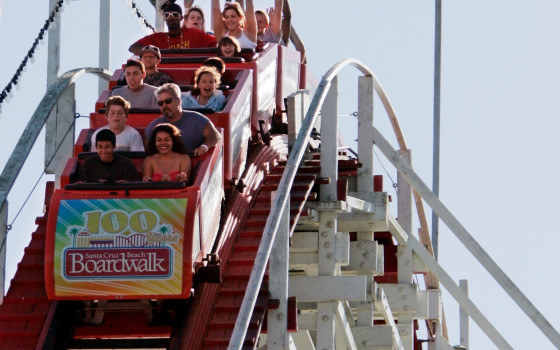Santa Cruz boardwalk first California amusement park planning to reopen under state guidelines 1