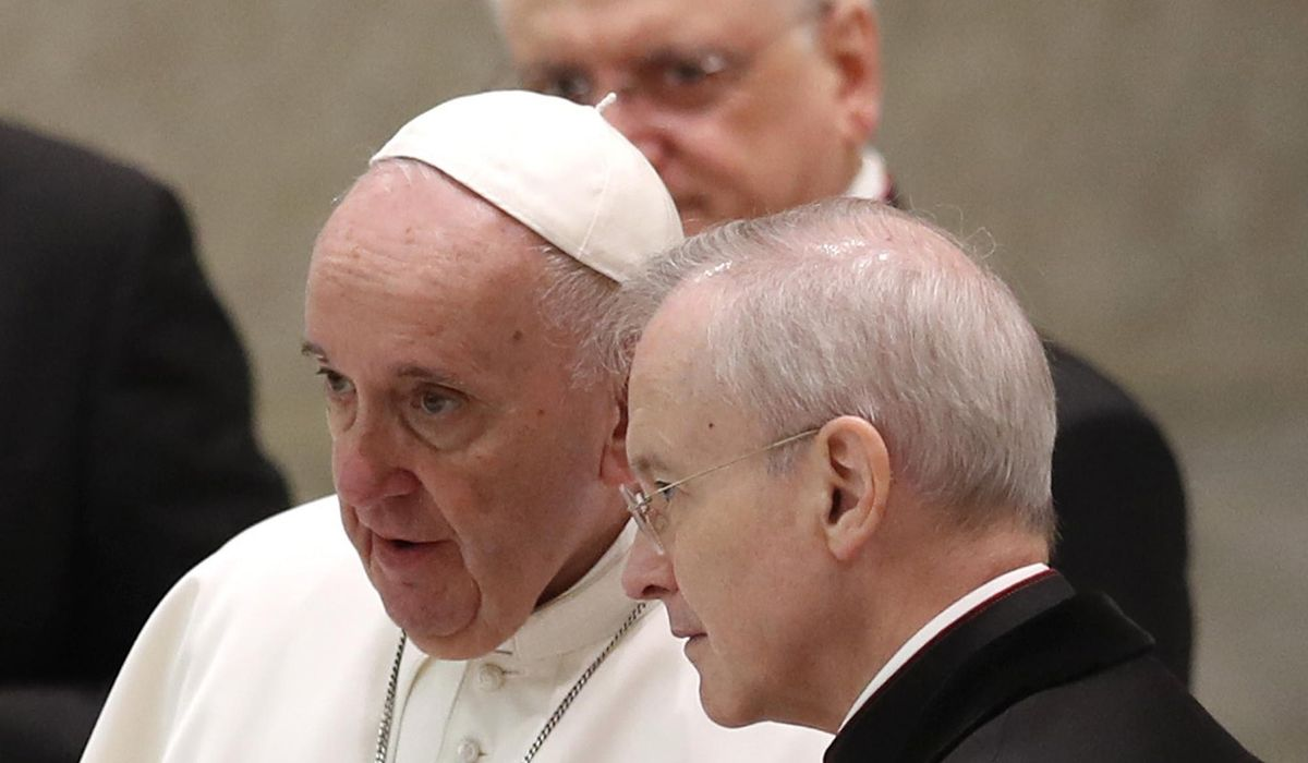 Maskless pope blames 'this lady called COVID' for distance 1