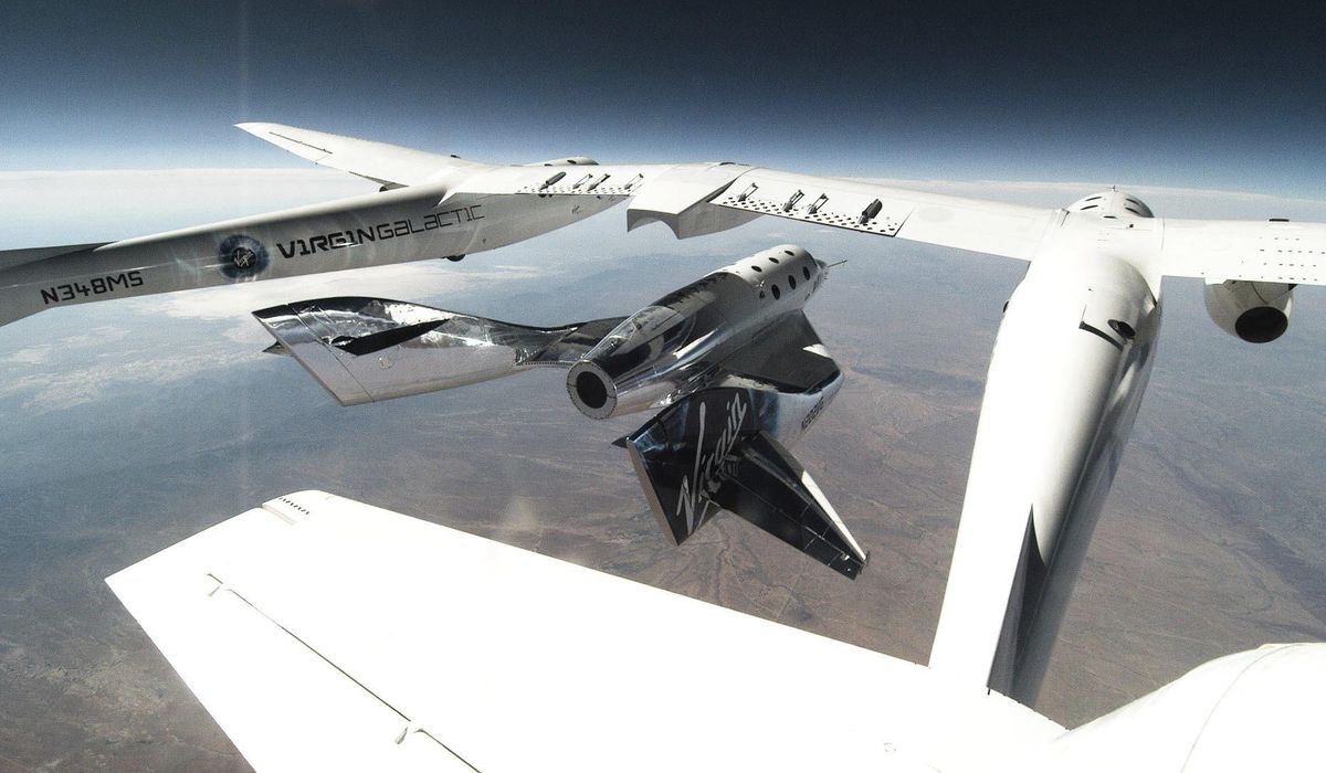 Window opens for Virgin Galactic test flight from spaceport 1