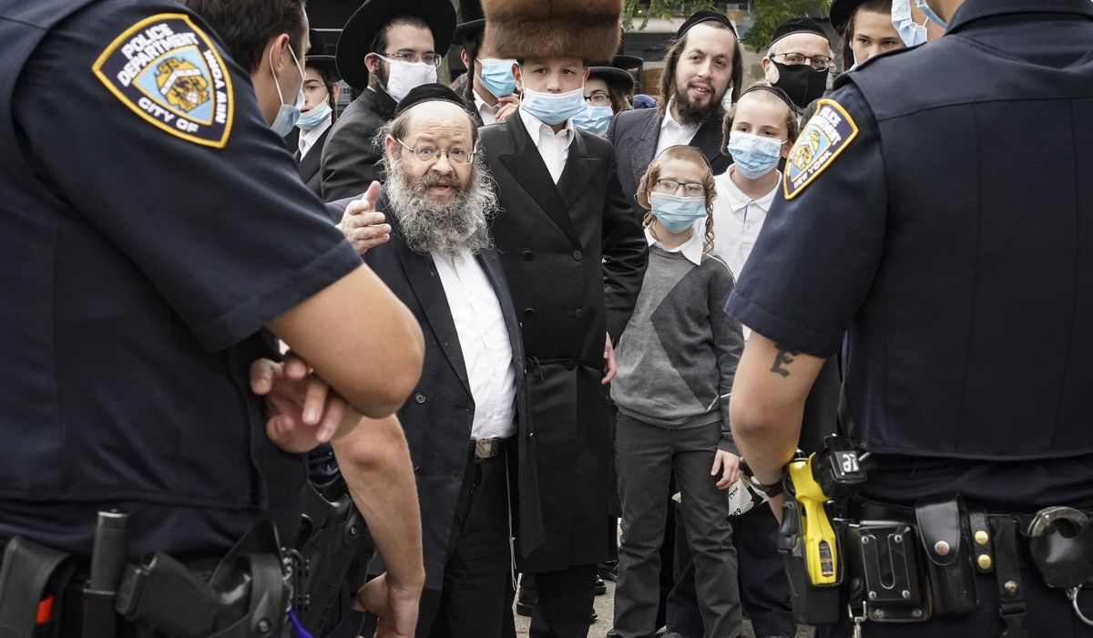 Amid NYC protests, Orthodox Jews urge new virus-era dialogue 1
