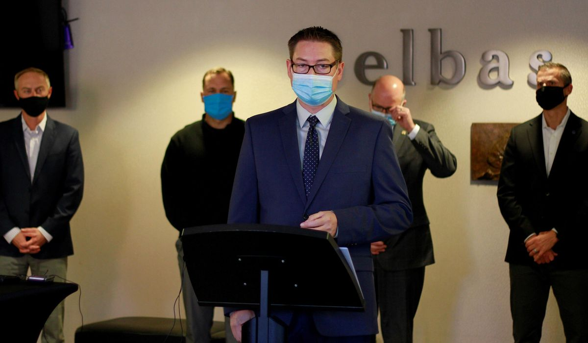 South Dakota medical groups promote masks, countering Noem 1