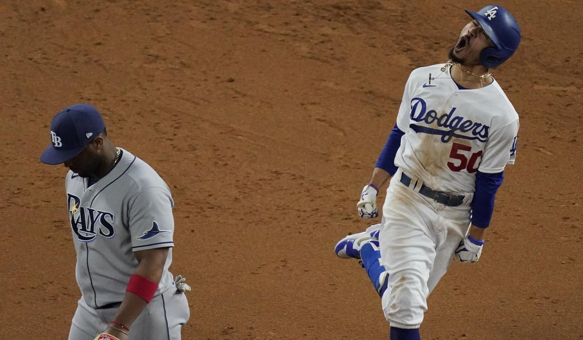 Fitting finale: Dodgers win title, lose Turner to COVID-19 1