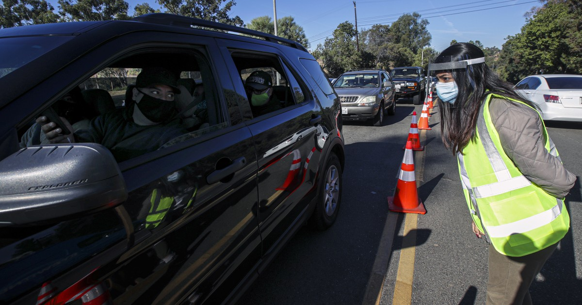 L.A. officials warn of more drastic restrictions, urge holiday travel quarantine, as COVID-19 surges 1