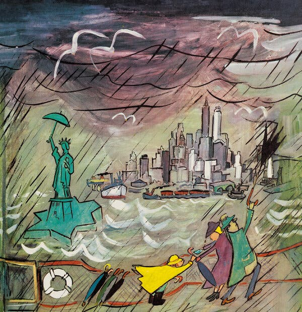 A Forgotten 1950 Classic by Ludwig Bemelmans Brings New York to Life 1