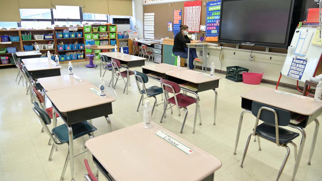 Schools go back to virtual learning in areas hard hit by Covid-19 1