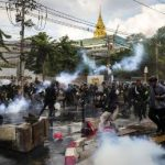 Thai protest leaders report to police on charges of insulting the monarchy, as authorities' tolerance wears out 6