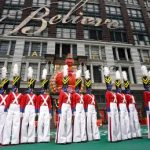 Rockettes perform at Thanksgiving Parade while wearing masks 7