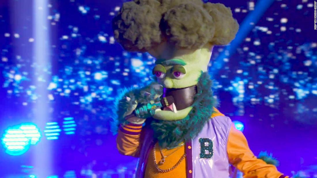 'The Masked Singer' reveals the celebrity behind Broccoli 1