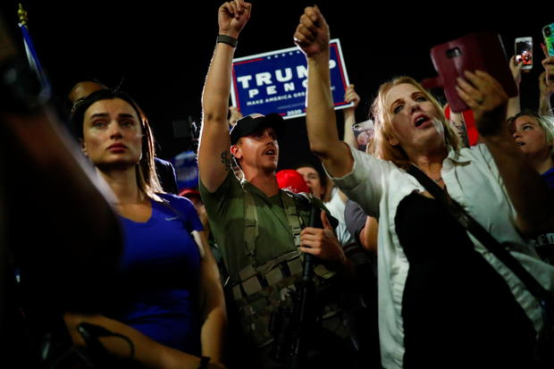 Several post-election protests in numerous cities get heated 1
