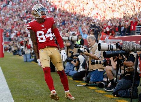 NFL may discipline 49ers after discovering possible mask violation by Kendrick Bourne 1
