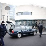 Suspect in custody after vehicle strikes gate outside German Chancellor Angela Merkel's offices 5