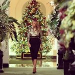 Melania Trump unveils patriotic 'America the Beautiful' White House Christmas decorations 14