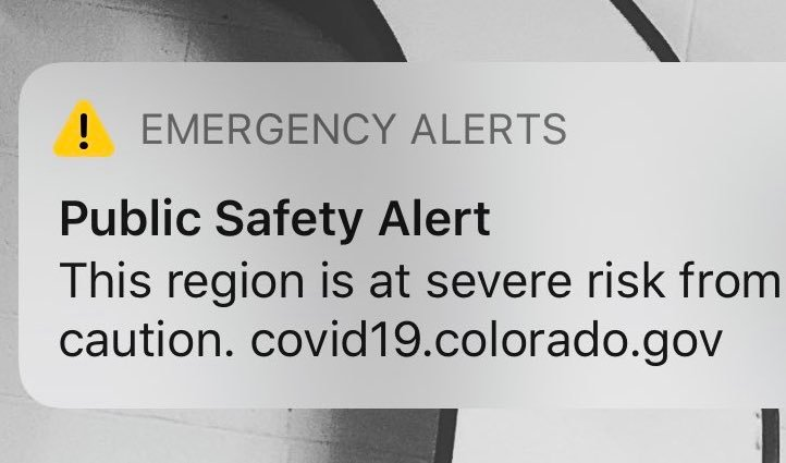 Health officials send COVID-19 alert to Denver area cell phones as new testing site opens in Jefferson County 1