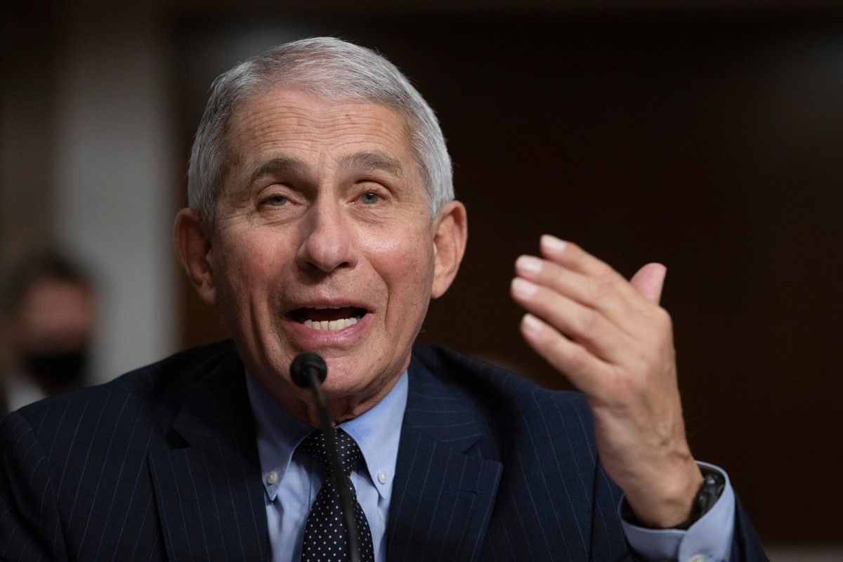 Fauci says older adults 'substantial proportion' of COVID-19 hospitalizations 1