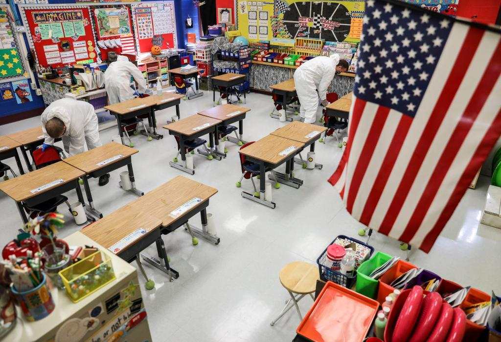 Schools abandon classes, states retreat as COVID-19 cases surge across nation 1