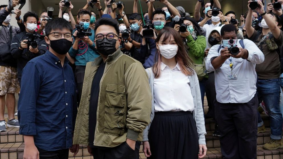 Hong Kong's Joshua Wong to plead guilty to protest charges 1