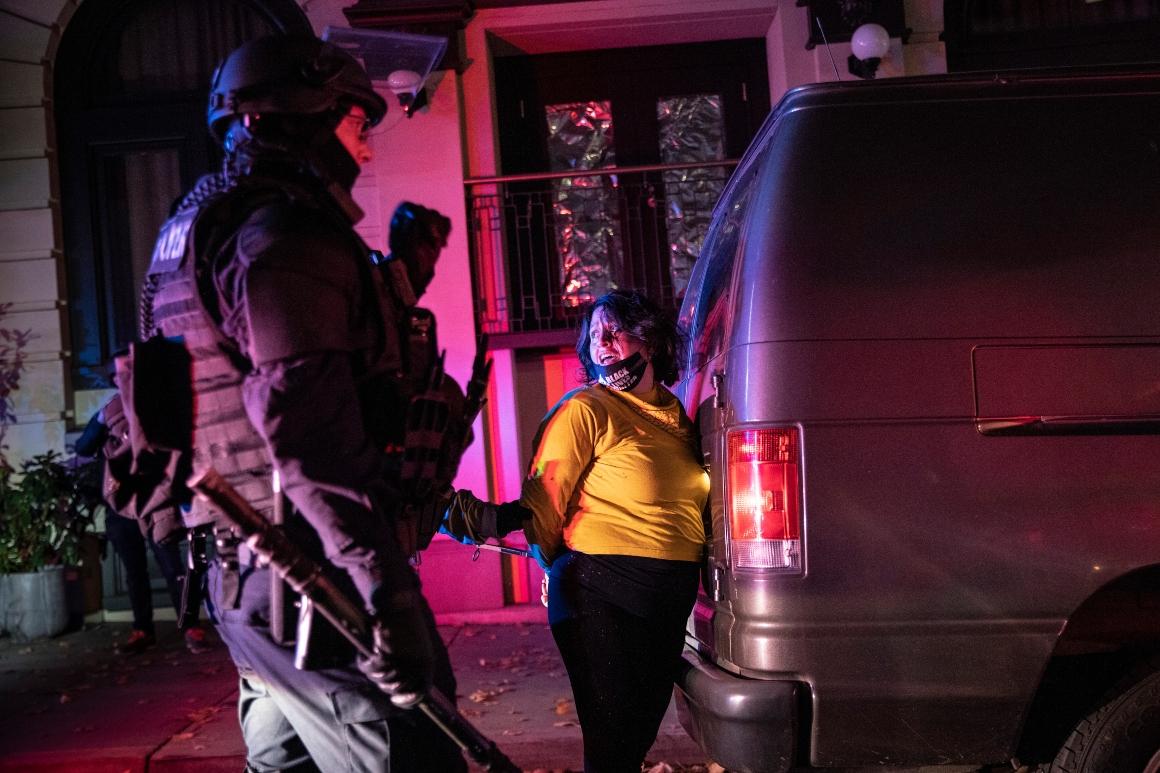 Riot declared in Portland as rioters smash windows 1