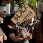 BLM Protesters Chant 'F*** Garcetti' Amid Rumors L.A. Mayor May Join Biden Administration 7