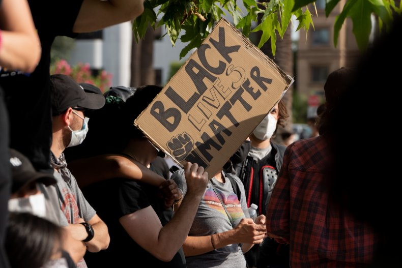BLM Protesters Chant 'F*** Garcetti' Amid Rumors L.A. Mayor May Join Biden Administration 1