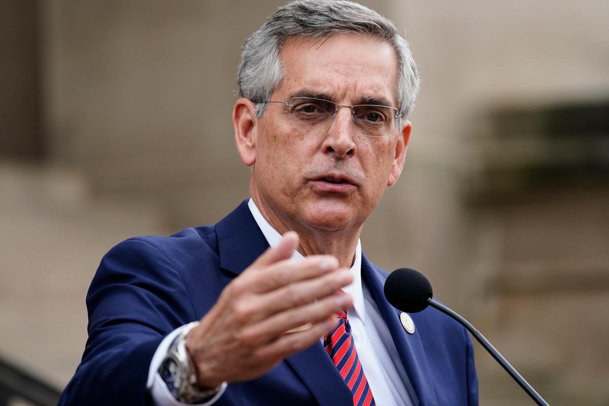 Georgia Secretary of State quarantines for COVID-19 amid hand recount 1