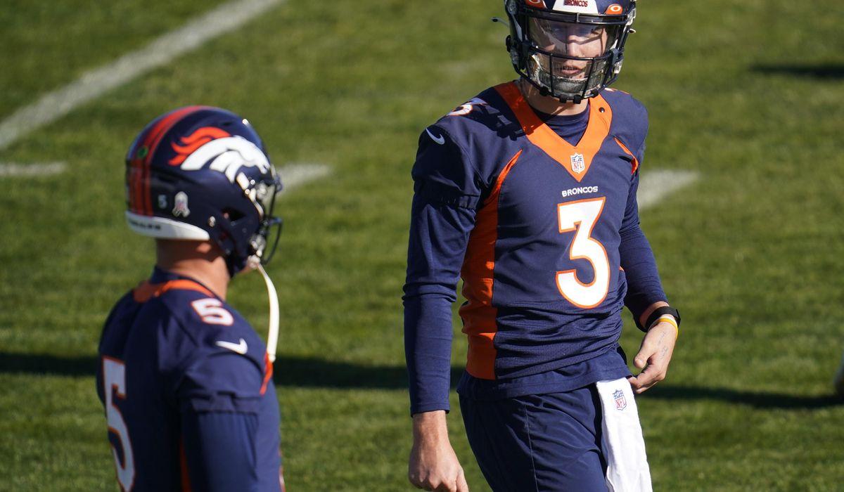Broncos: Lock safe after QB Driskel goes on COVID-19 list 1